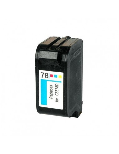 TINTA DE COLOR COMPATIBLE PARA HP 78