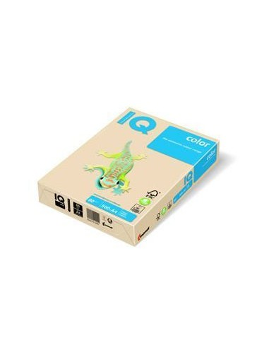 IQ Papel multifunción color 500h 80 g. A4 Crema