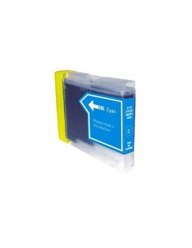 TINTA CIAN COMPATIBLE PARA BROTHER LC970C/LC1000C