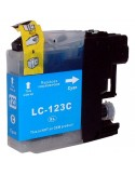 TINTA CIAN COMPATIBLE PARA BROTHER LC121C/LC123C