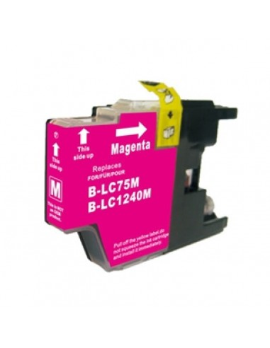 BROTHER LC1220BK/LC1240BK TINTA MAGENTA COMPATIBLE