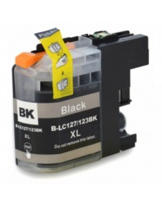 BROTHER LC-127XLBK TINTA NEGRA COMPATIBLE