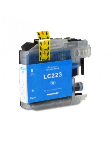 BROTHER LC-223BK/LC-221BK TINTA CIAN COMPATIBLE
