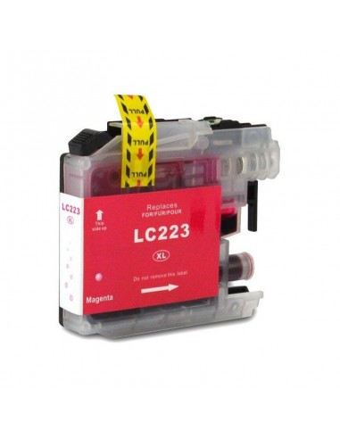 BROTHER LC-223BK/LC-221BK TINTA MAGENTA COMPATIBLE