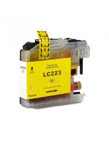 BROTHER LC-223BK/LC-221BK TINTA AMARILLA COMPATIBLE