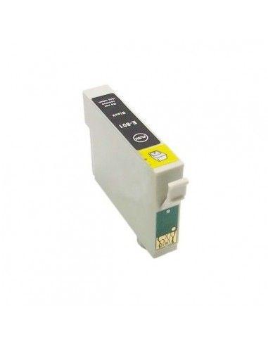 TINTA NEGRA COMPATIBLE PARA EPSON T0801