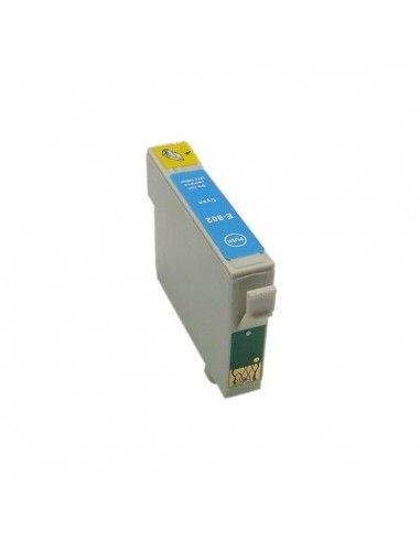 TINTA CIAN COMPATIBLE PARA EPSON T0802