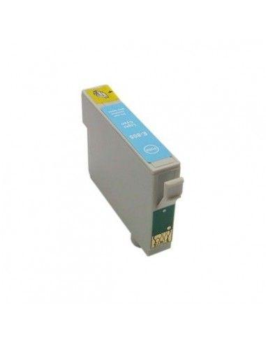 TINTA CIAN CLARO COMPATIBLE PARA EPSON T0805
