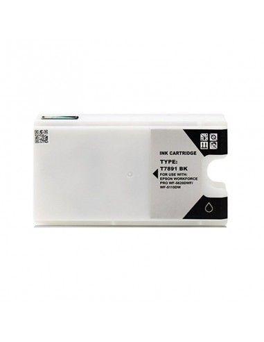 TINTA NEGRA COMPATIBLE PARA EPSON T7891 / T7901 / T7911