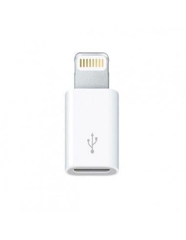 ADAPTADOR MICRO USB H A APPLE LIGHTNING 8 PIN