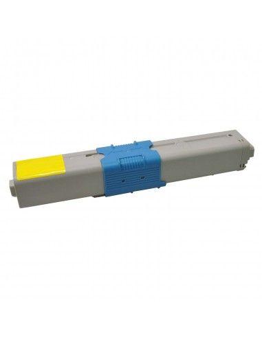 TONER AMARILLO COMPATIBLE PARA OKI C310/C510/MC351/MC361
