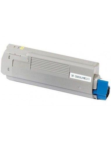 TONER AMARILLO COMPATIBLE PARA OKI C5850/C5950/MC560