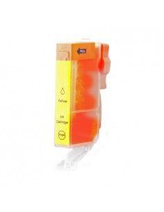 CANON CLI571XL tinta amarilla compatible 0334C001/0388C001