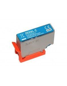 EPSON T02H2/T02F2 (202XL) tinta cyan compatible C13T02H24010/C13T02F24010