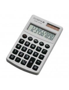 OLYMPIA Calculadora LCD-1110 blanca