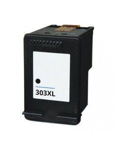 HP 303XL tinta negra compatible T6N04AE/T6N02A