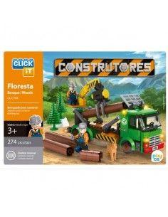 Juego de bloques Click-It Constructores Bosque