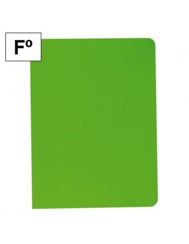 Subcarpeta Plus Office Folio 200 gr 25 unid verde