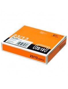 Grapas Plus Office 23/13 galvanizadas (1000uds./caja)