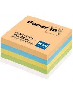 BLOCS NOTAS ADHESIVAS REPOSICIONABLES PAPER IN COLORES PASTEL 300H