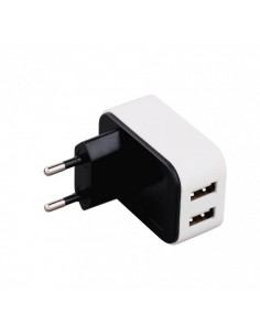 ALIMENTADOR USB DE HOGAR 2 PUERTOS 4A