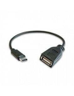 Cable OTG USB-AH a TYPE-C 2.0 20CM 28+24 Apantallado