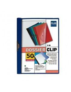 Dossier Plus Office Plástico F-18 50 hojas Azul