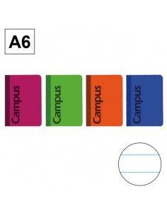 Libreta de bolsillo tapa básica A6 40h 70gr Horizontal