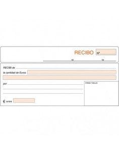 TALONARIO RECIBOS 207X109 T-60 ESTANDAR DUPLICADO AUTOCOPIA (50 JUEGOS)