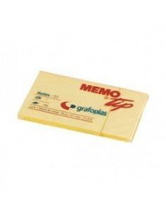 Taco de notas adhesivas 76 x 127 mm. Memo Tip