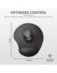BigFoot Mouse Pad - black