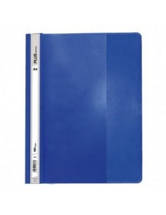 Dossier Plus Office A4 fástener plástico azul oscuro