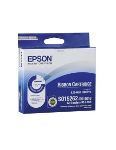 CINTA DE IMPRESION NEGRA EPSON C13S015262
