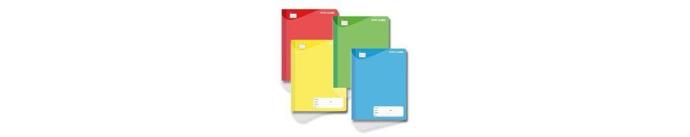 Cuadernos, libretas y blocs
